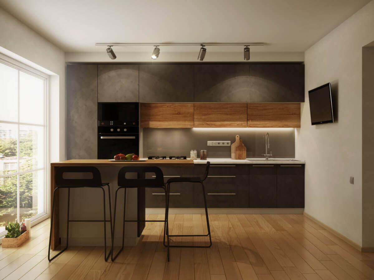 Oświetlenie do kuchni sufitowe - Gdańskie Kuchnie