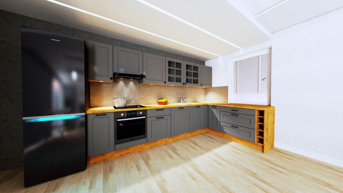 oświetlenie w kuchni Gdańsk - Gdańskie Kuchnie
