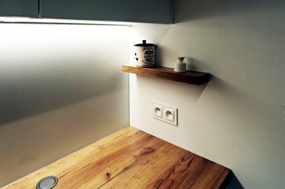 Oświetlenie pod szafki kuchenne - Gdańskie Kuchnie