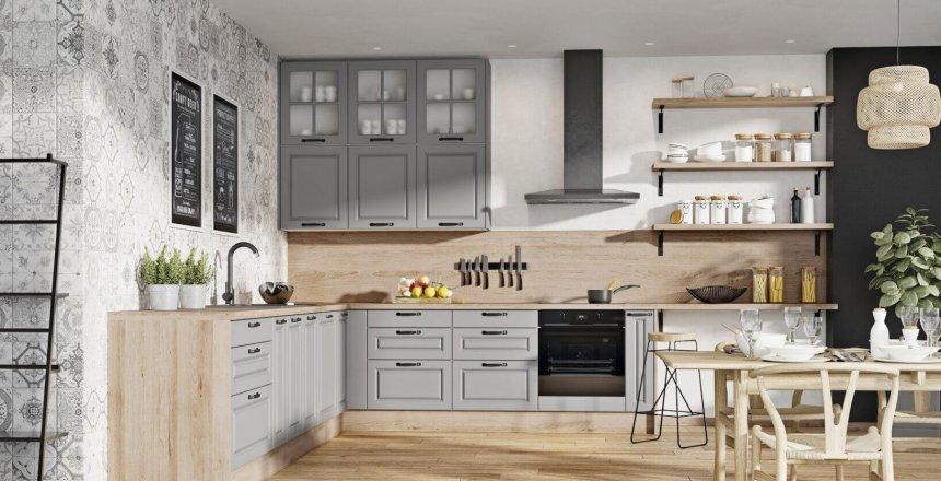 kuchnia-na-wymiar-szara-angielska-drewniany-panel-1